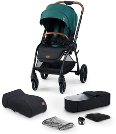 KinderKraft Evolution Cocoon 2in1 Midnight Green
