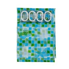 Vonios užuolaida Home Accents PED-005, 180 x 180 cm