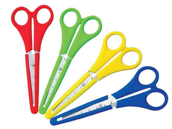 Milan Scissors With Plastic Cover Assortment
