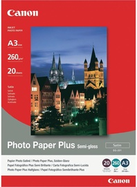 Canon SG-201 Photo Paper+ A3 260 Semi-gloss 20 Pages
