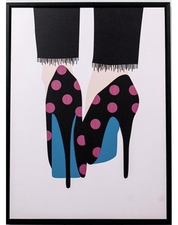 Mondex Heels 1 Painting 45x60x4cm