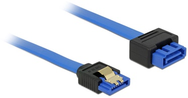 Delock Extension Cable SATA 6 Gb/s / SATA 0.7m Blue