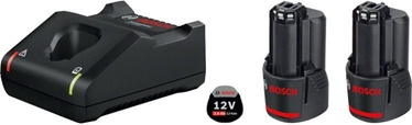 Bosch GBA 12V 2x2.0Ah + GAL 12V-40 Set