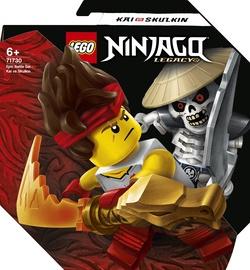 Конструктор LEGO Ninjago Легендарные битвы: Кай против Скелета 71730, 61 шт.
