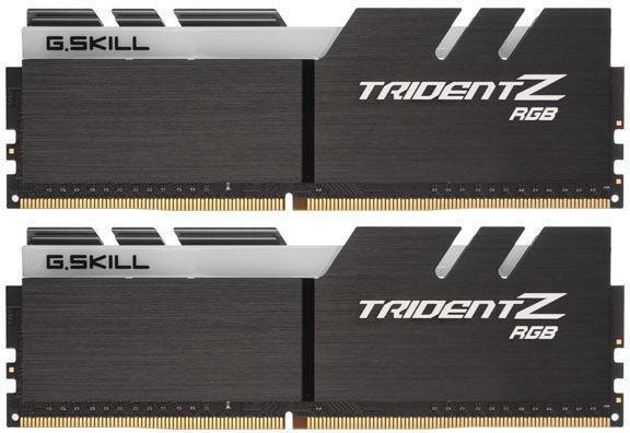 G.SKILL Trident Z RGB 16GB 3466MHz CL16 DDR4 KIT OF 2 F4-3466C16D-16GTZR