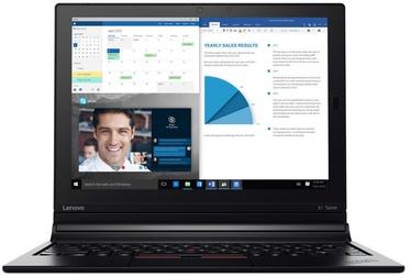 Planšetinis kompiuteris Lenovo ThinkPad X1 i7-7Y75 16/512GB LTE Black