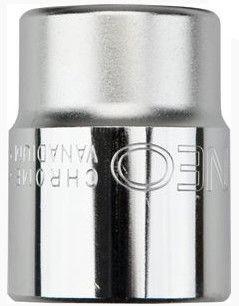 "NEO Hexagonal Socket Cr-V 30mm 1/2"""