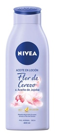 Nivea Oil In Lotion Cherry Blossom And Jojoba Oil 400ml