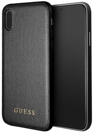 Guess Iridescent Hard Back Case For Apple iPhone X Black