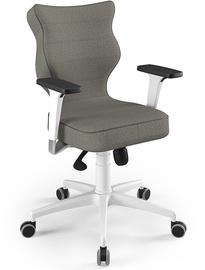 Entelo Perto White Office Chair FC03 Gray