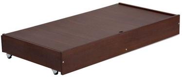 Klups Under-Cot Drawer 120x60cm Walnut