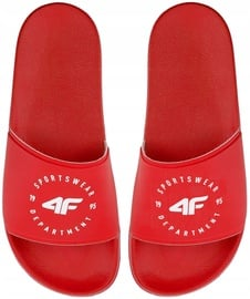 4F Women Slides H4Z20-KLD001 Red 40
