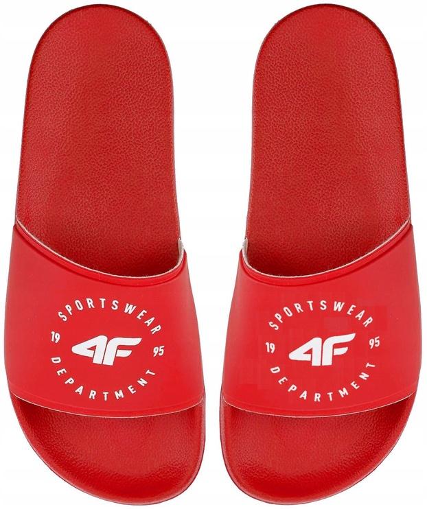 4F Women Slides H4Z20-KLD001 Red 40