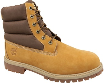 Timberland Heritage 6 Inch Quilit Kids Boots C1790R Yellow 37