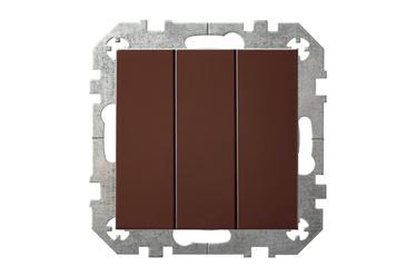 Jungiklis Liregus Epsilon, 3kl, rudos spalvos, be rėmelio