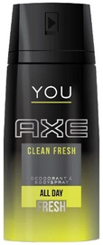 Axe You Clean Fresh All Day Fresh Deodorant Spray 150ml