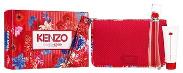 Rinkinys moterims Kenzo Flower By Kenzo 3pcs Set 125 ml EDP