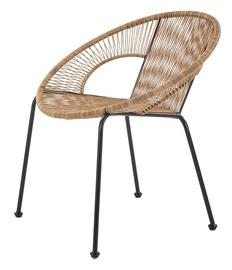 Halmar Bari Garden Chair Brown/Black