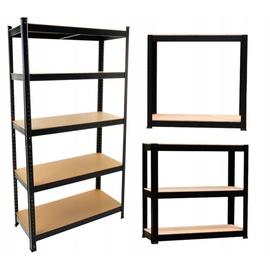 Plaukts Top E Shop Tool Storage Rack P9030, melna, 30x90x180 cm