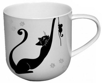 Carmani Crazy Cats Mug Cat and Mouse 500ml