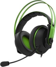 Ausinės Asus Cerberus V2 Gaming Headset Green