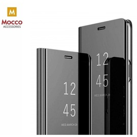 Чехол Mocco Clear View For Xiaomi Redmi Note 9S / 9 Pro, черный