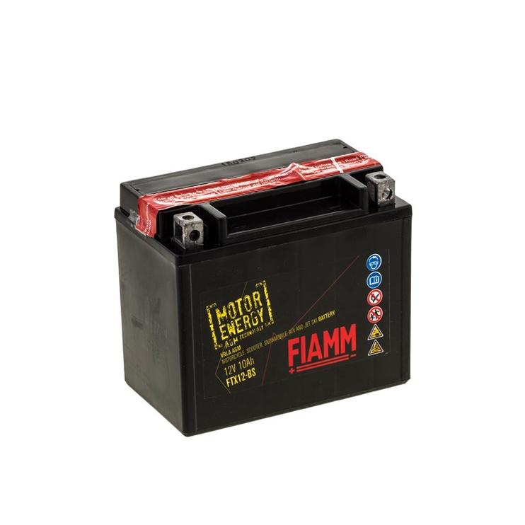 Akumulators Fiamm Moto FTX12-BS, 10 Ah, 150 A, 12 V