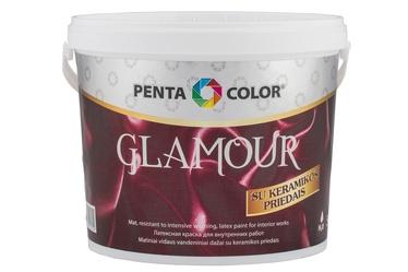 Dispersiniai dažai Pentacolor Glamour, balti, 5 l