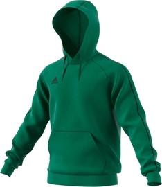 Adidas Mens Core 18 Hoodie FS1894 Green L