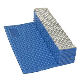 Vingrošanas matracis Yate Alu, zila/sudraba, 185 cm x 56 cm x 18 mm