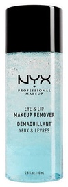 Makiažo valiklis NYX Eye & Lip Makeup Remover, 80 ml
