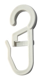 Karnizo žiedų kabliukai Okko