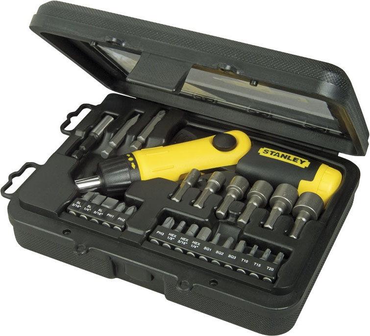 Stanley 0-63-022 Pistol Grip Screwdriver Set 22pcs