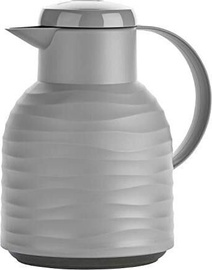 Emsa Samba Vacuum Jug Quick Press 1l Grey