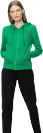 Audimas Womens Stretch Cotton Hoodie Jolly Green L