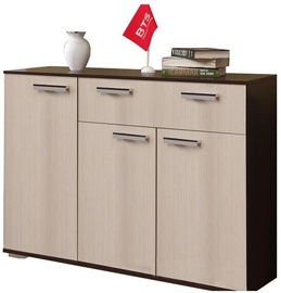 MN Standart 4 Chest Of Drawers Wenge/Sonoma Oak