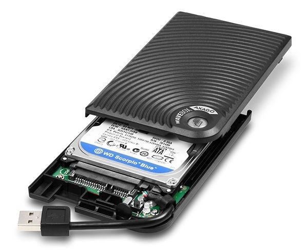Axagon EE25-XP USB 2.0 Wave Box