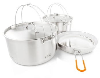 GSI Outdoors Glacier Stainless Troop Cookset