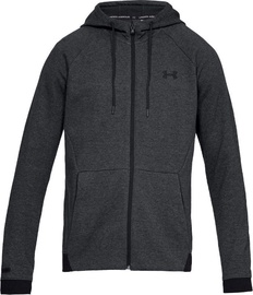 Under Armour Unstoppable Double Knit FZ Hoodie 1320722-001 Black L