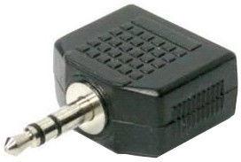 Roger Audio Adapter / Splitter 3.5mm To 2x 3.5mm Black