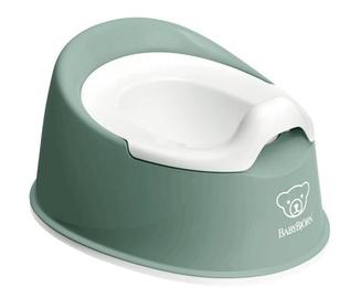 Детский горшок BabyBjorn Smart Potty Deep 051268, белый/зеленый