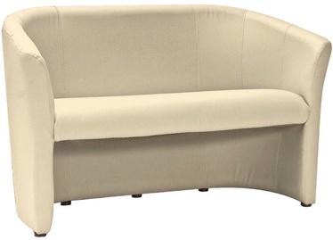 Dīvāns Signal Meble TM-2 Cream, 126 x 60 x 76 cm