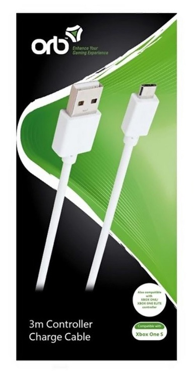 Кабель ORB Charge Cable 3m White