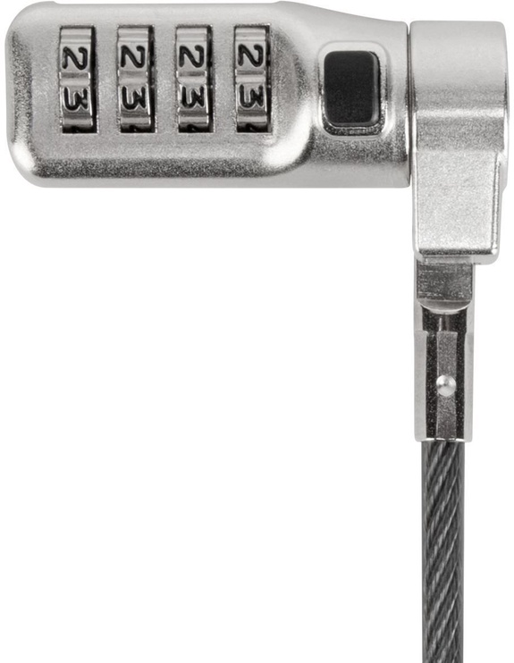Targus DEFCON 3-in-1 Fixed Combination Cable Lock