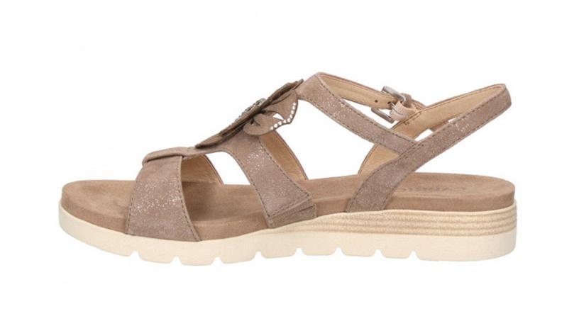 Basutės, Caprice Sandals 9/9-28105/22 Grey 38