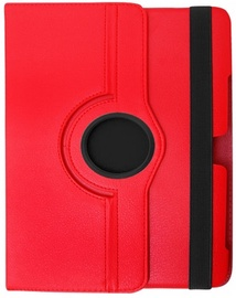 Etui Case With Rotated Stand For Samsung Galaxy Tab 3 8.0 Red