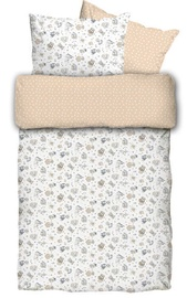 La Bebe Natural Cotton Baby Cot Set 100x140cm Dogs