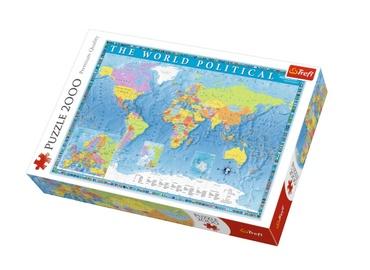 Пазл Trefl The World Political Map 27099, 2000 шт.