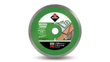 Rubi Diamond Cutting Disc CSV 125 Pro