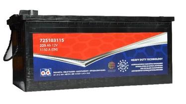 Аккумулятор AD Europe 725103115, 12 В, 225 Ач, 1150 а